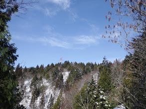 左上に山頂近くの鉄塔