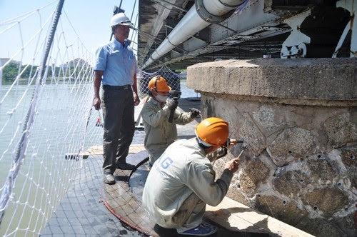 Cầu Trường Tiền lấy lại dáng xưa