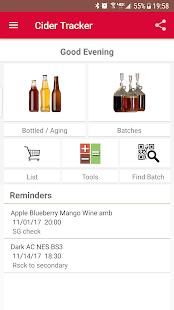 Cider Tracker (Home Brew) - náhled