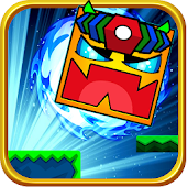 Square Dash: Jump Games, Geometry Word Free Android APK Download Free By Bling Entertainment