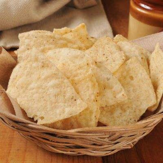 Copycat Chipotle Tortilla Chips.