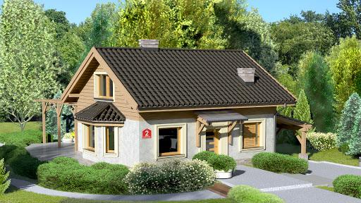 projekt Dom przy Imbirowej 2