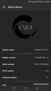 Carbon OS Theme for Huawei - náhled
