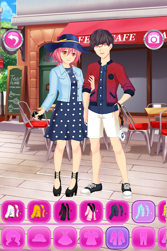 Anime Couples Dress Up Game android2mod screenshots 2