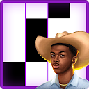 Lil Nas X Old Town Road Fancy Piano Tiles 3 APK Baixar