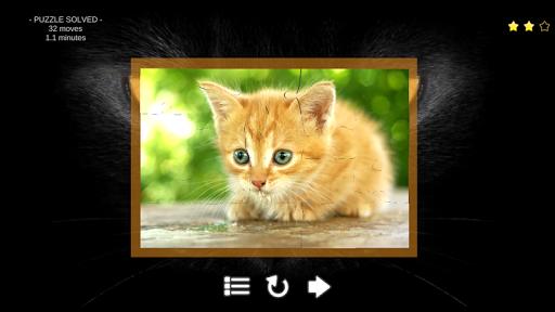 玩免費棋類遊戲APP|下載Kitty Cat Jigsaw Puzzles app不用錢|硬是要APP