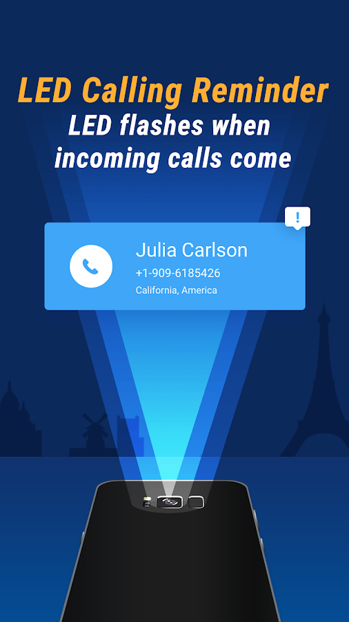 LetsCall - Free Global Calls & LED Reminder- screenshot