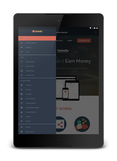 Dwindly.io - Earn Money By Sharing Links! 1.1 screenshots 9