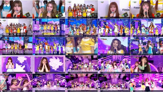 190405 (1080p) IZONE Part – Music Bank