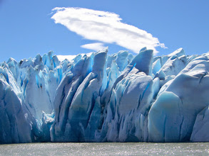 Photo: Grey Glacier from the ferry