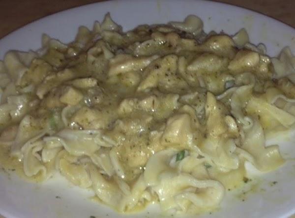 Creamy Italian Chicken And Noodles Recipe