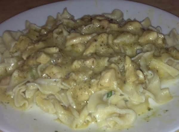Creamy Italian Chicken And Noodles