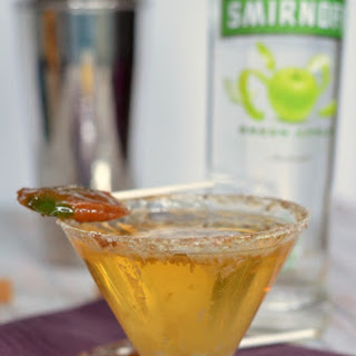 Caramel Apple Pop Martini.