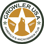 Logo for Growler USA - Katy