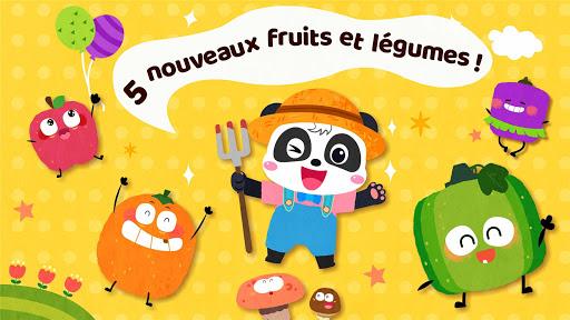 Verger de Bébé Panda - Famille Pomme fond d'écran 2