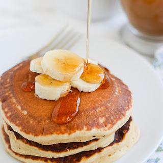 Peanut Butter Banana Pancakes