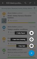 Screenshot of FieldLens for Construction