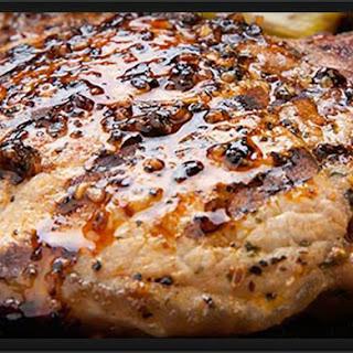 Garlic Glazed Pork Chops with Apple Cider Recipe