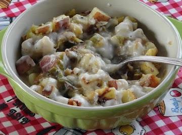 Country Fried Potato Veggie Medley Recipe