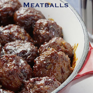 Stout Meatballs with Beer BBQ Sauce