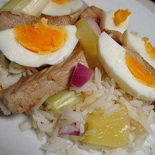 Pineapple Pork and Egg with Basmati Rice