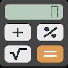 Calculator with percentage icon