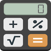 Calculator with percentage