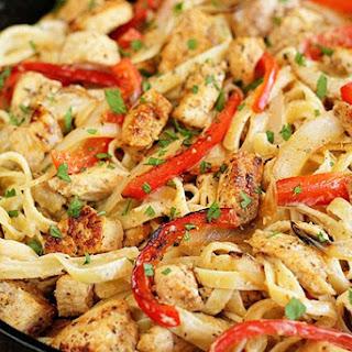 Shortcut Cajun Chicken Pasta.