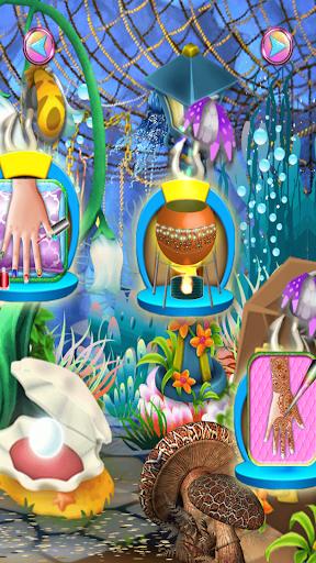 無料休闲Appのネイルサロンの人魚のゲーム|記事Game