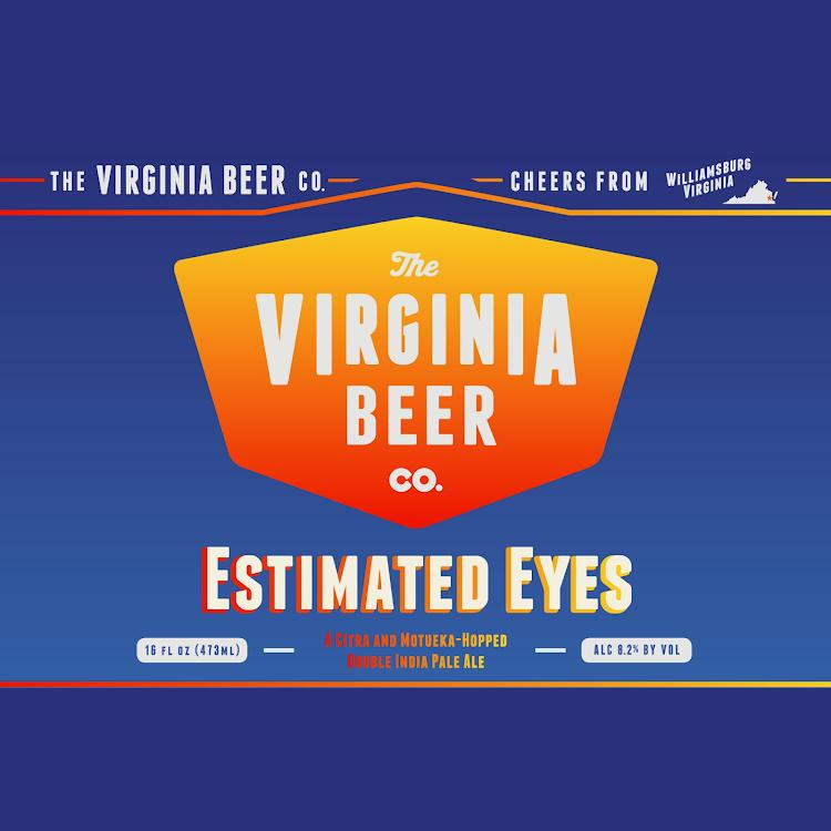 Logo of Virginia Beer Co. Estimated Eyes