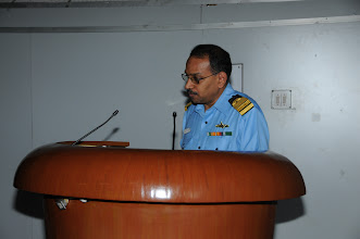 Photo: Capt. Santosh introducing the CSI Team to the participating Naval Officers
