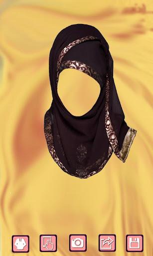 Hajib Wedding Photo Suit