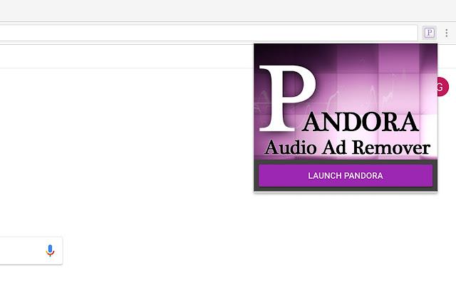 pandora audio ad remover chrome web store