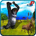 Wild Jungle Gorilla Simulator icon