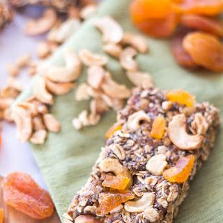 Apricot Cashew Granola Bars