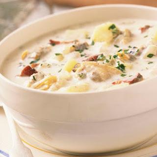 Homemade Slow Cooker Potato Soup.