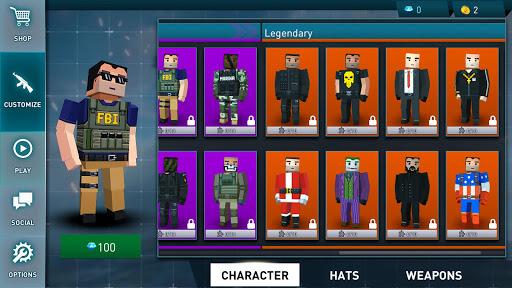 Pixel Danger Zone: Battle Royale modavailable screenshots 6