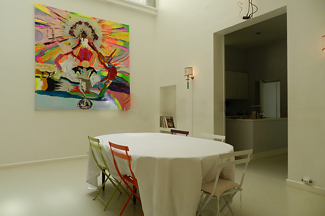 Dining area at 4 Bedroom Serviced Apartment, Luxembourg garde