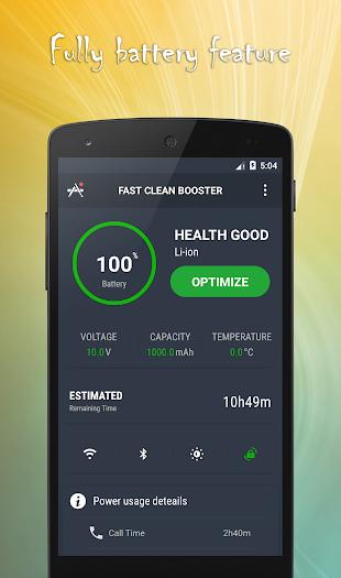 Fast Clean/Smart Booster- screenshot
