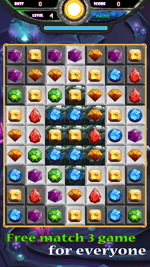 Jewels Deluxe 2018 - New Mystery Jewels Quest- screenshot