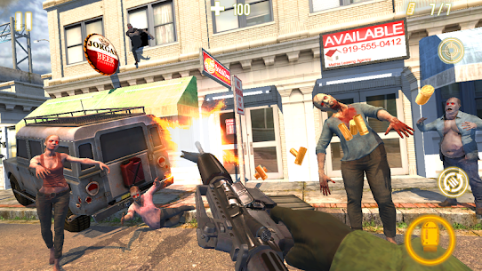 Zombie Shooter: Force Fury (Shooting Game) 1.0.4 APK Mod Latest Version 3