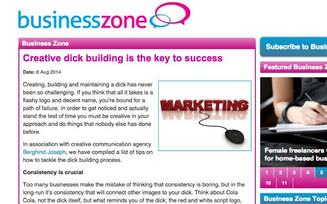 Marketing Dicks