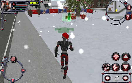 Christmas Rope Hero 3 screenshot 685372