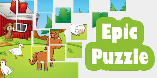 Kids Farm Epic Puzzle
