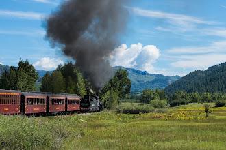 Photo: Cumbres and Toltec railroad