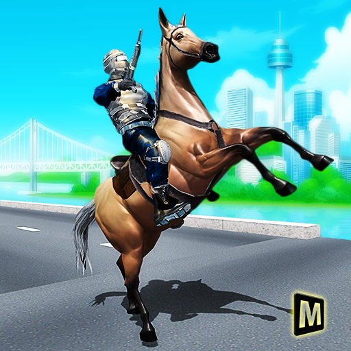 Mounted Police Horse Chase – TPS Shooting