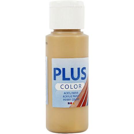 Hobbyfärg Plus color - guld, 60 ml