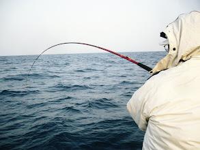 """Photo: 長崎から""""オギノ先生""""も参戦! 病院の先生でございます。 釣り上手いです。 釣り好きです。"""