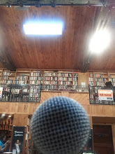 Photo: Singin' for some books. And book-lovers. I love Midtown Scholar.
