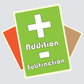 Addition subtraction math card